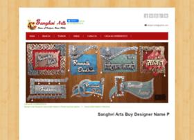 sanghviarts.com