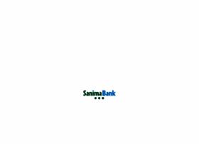 sanimabank.com