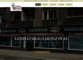 sanitaetshaus-pfau.de