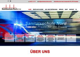 sanitaetsschulenord.de