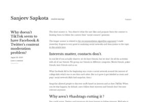 sanjeevsapkota.com