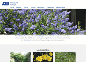 Sanjose.watersavingplants.com
