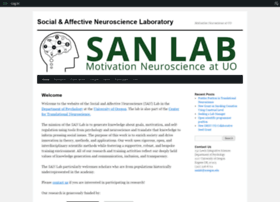 sanlab.uoregon.edu
