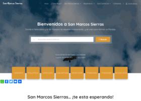 sanmarcossierras.com