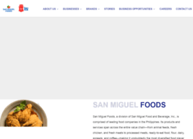 sanmiguelpurefoods.com