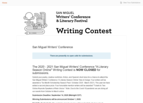 sanmiguelwritersconference.submittable.com