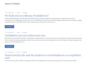 sannes-testblog.de