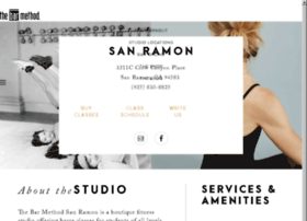 sanramon.barmethod.com