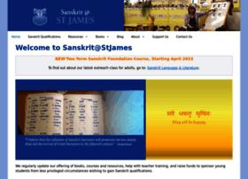 sanskritatstjames.org.uk
