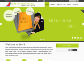 sansmanpower.com