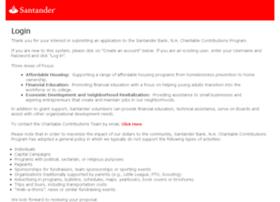 santanderbankfoundation.versaic.com