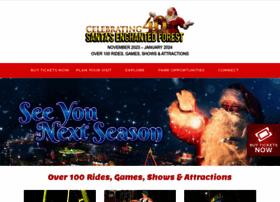 santasenchantedforest.com