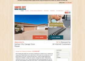 santeecitygaragedoorrepair.com