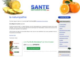 santenaturopathie.com