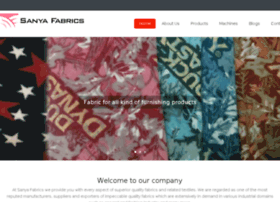 sanyafabrics.tradegateway.com