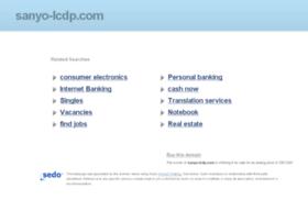 sanyo-lcdp.com