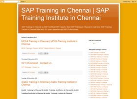 sap-training-institute-in-chennai.blogspot.com