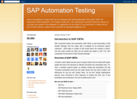 sapautomationtesting.blogspot.in