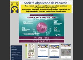 sapediatrie-dz.com