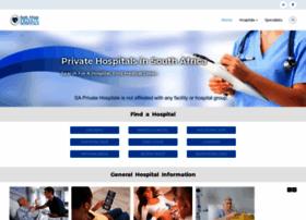 saprivatehospitals.com