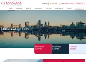 saracenssolicitors.co.uk