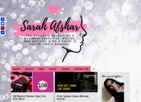 sarahafshar.com