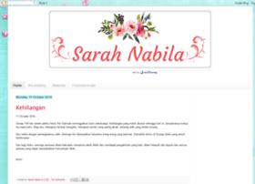 sarahnabilakhan.blogspot.com