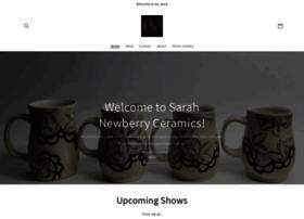 sarahnewberryceramics.com