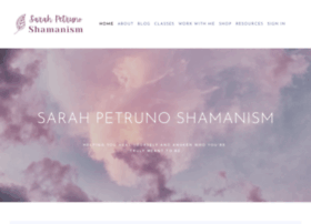 sarahpetrunoshamanism.com