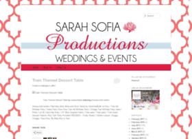 sarahsofiaproductions.wordpress.com