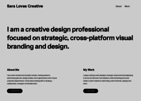 saralovascreative.com