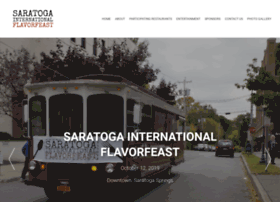 saratogaflavorfeast.com