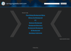 sariagungrestaurant.com