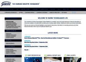sarine.listedcompany.com