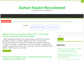 sarkarinaukrirecruitment.com