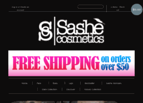sashecosmetics.com
