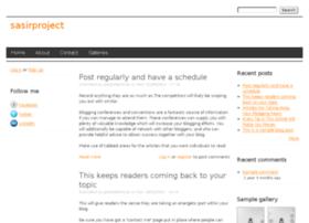 sasirproject.drupalgardens.com