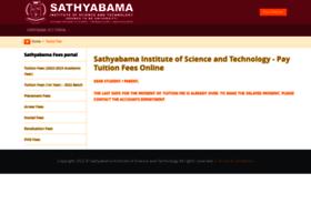 sathyabamauniversity.ac.in