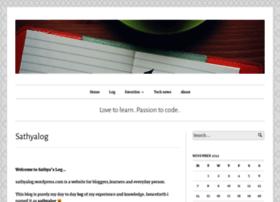 sathyalog.wordpress.com