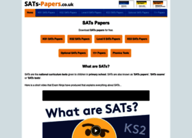 sats-papers.co.uk