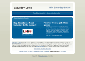 saturdaynightlotto.com.au