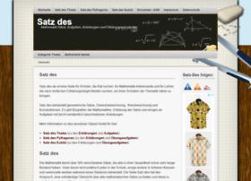 satz-des.de