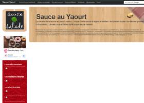 sauce-yaourt.com