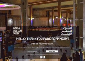 saudidesignweek.com