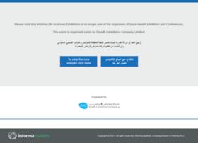 saudihealthexhibition.com