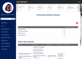saugertiesyouthhockey.com