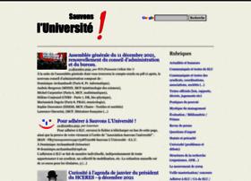 sauvonsluniversite.com