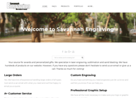 savannahengraving.com