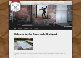 savannahskatepark.com