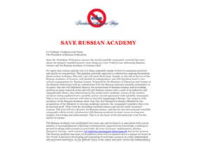 save-russian-academy.org